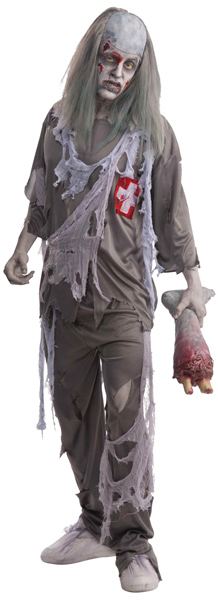 "Adult ""Doctor Dead"" Zombie Costume"