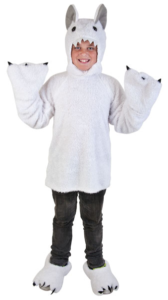 Child's Great White Yeti Costume