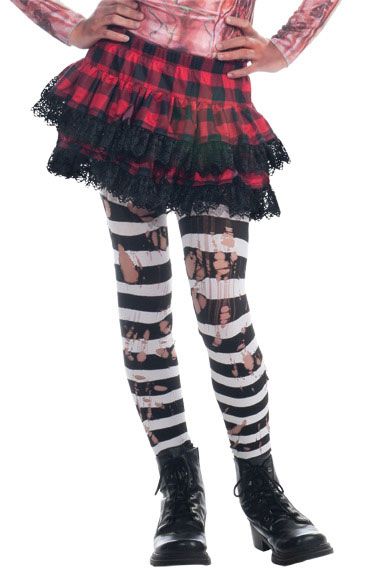 Girls Zombie Tights