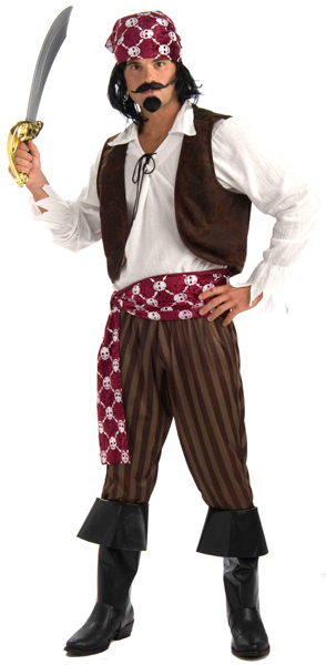 Shipwrecked Pirate Costume