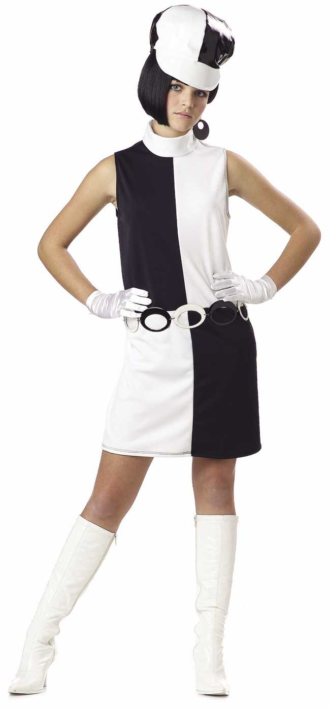 Teen Go Go Girl Costume