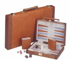 Contemporary Brown Backgammon Game