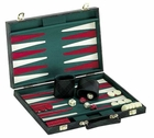 Flannel Pattern Backgammon Game Set in Case