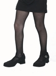 Child's Black Fishnet Tights