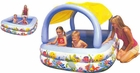 Sun Shade Inflatable Kiddie Pool