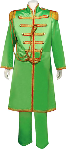 Adult Deluxe Green Sgt. Pepper Costume