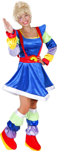 Adult Magic Rainbow Diva Costume