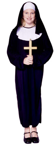 Child's Nun Costume
