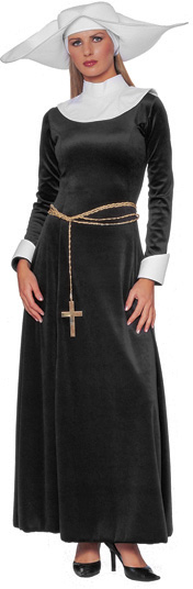Adult Nun Habit Costume