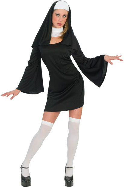 Adult Classic Sexy Nun Costume