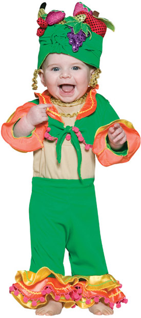 Infant Carmen Miranda Costume