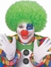 Adult Green Afro Clown Wig