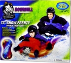 Uncle Bob  Frenzy Double Inflatable Snow Tube