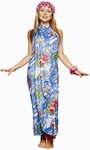 Adult Hawaiian Sarong Dress Costume