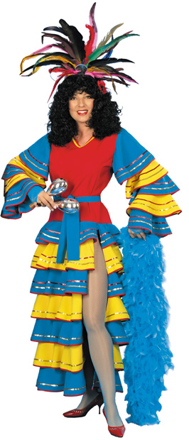 Woman's Carnival Dress Costume