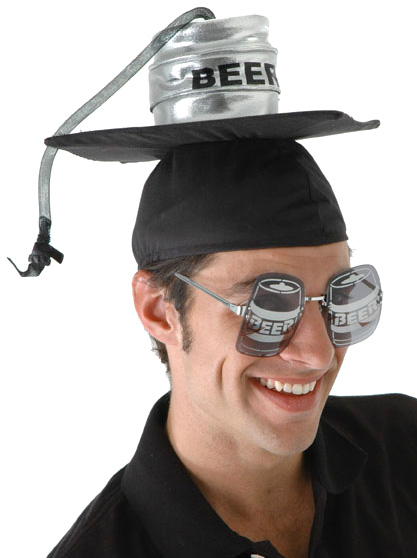 Keg Graduation Cap
