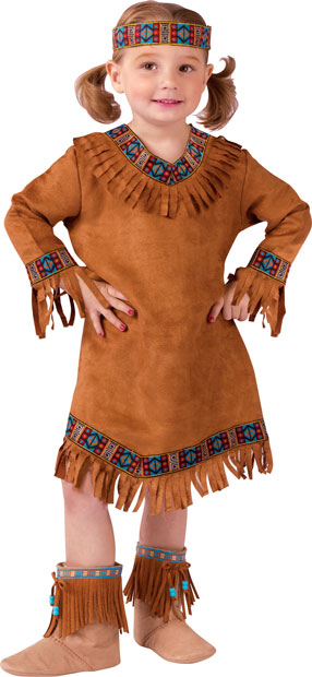 Toddler Native American Indian Costume