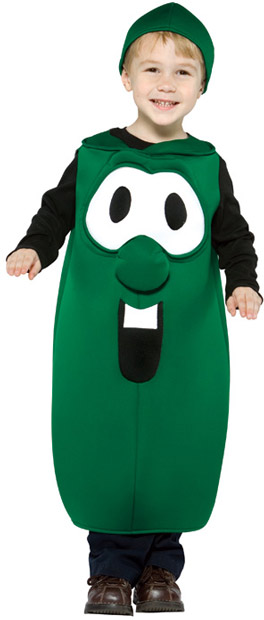Child's Larry the Cucumber VeggieTales Costume