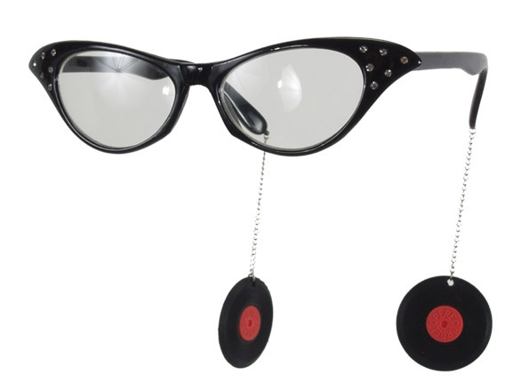 50's Style Record Glasses