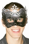 Black Filigree Venetian Eyemask