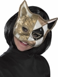 Domino Cat Venetian Mask