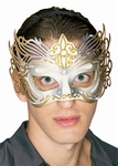 Gold Filigree Venetian Eyemask