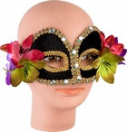 Venetian Mask With Flowers