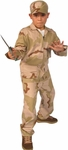 Child's Desert Army Outfit Costume