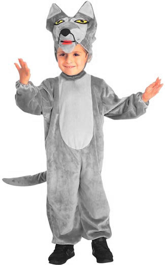 Child's Big Bad Wolf Costume