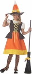 Child's Sweet Candy Corn Witch Costume