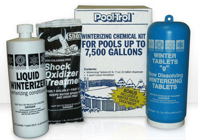 Winterizing Chemical Kit 7,500 Gallon Pool
