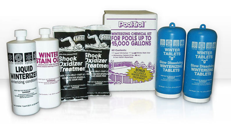 Winterizing Chemical Kit 15,000 Gallon Pool