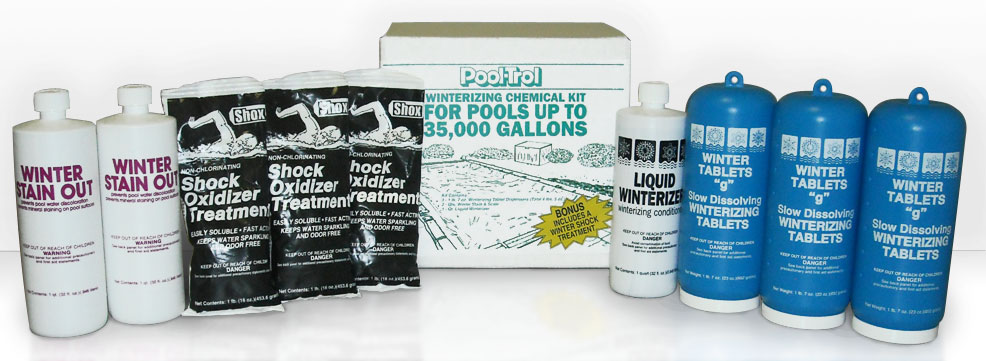 Winterizing Chemical Kit 35,000 Gallon Pool