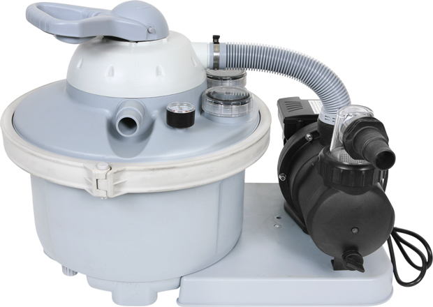 AquaQuik 1/2 HP Sand Filter System for Summer Escapes Pools