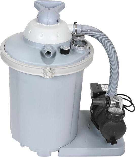 AquaQuik 3/4 HP Sand Filter System for Summer Escapes Pools