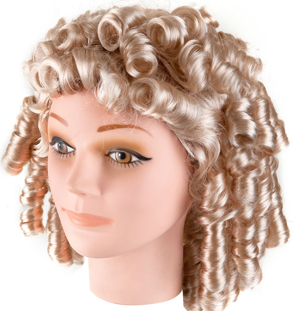 Adult Shirley Temple Costume Wig