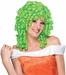 Adult Green Curly Costume Wig