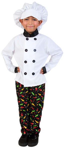 Child's Prep Chef Costume