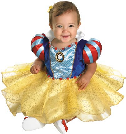Deluxe Baby Snow White Costume