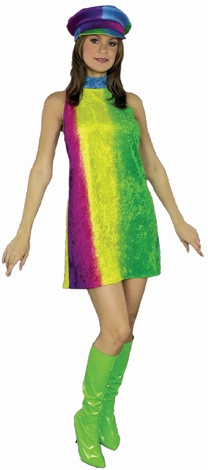 Adult Go Go Dress Costume