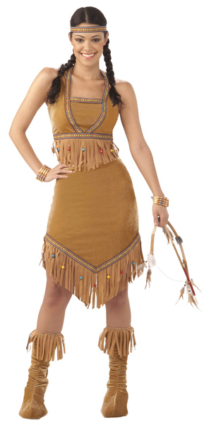 Teen Native American Indian Princess Costume