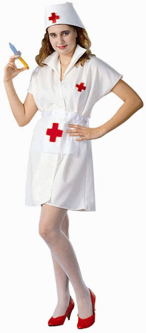 Adult Nurse Outfit Costume
