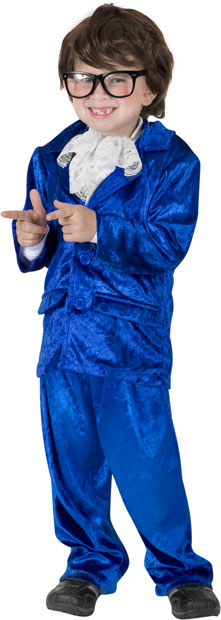 Child's Austin Powers Costume