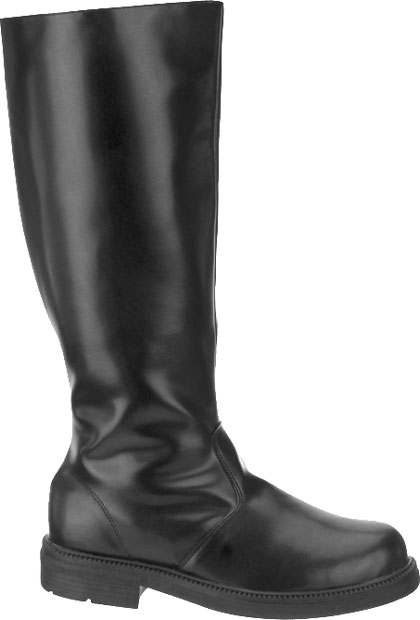 Adult Black Pirate Costume Boots