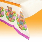 Tiki Island Paper Tablecloth