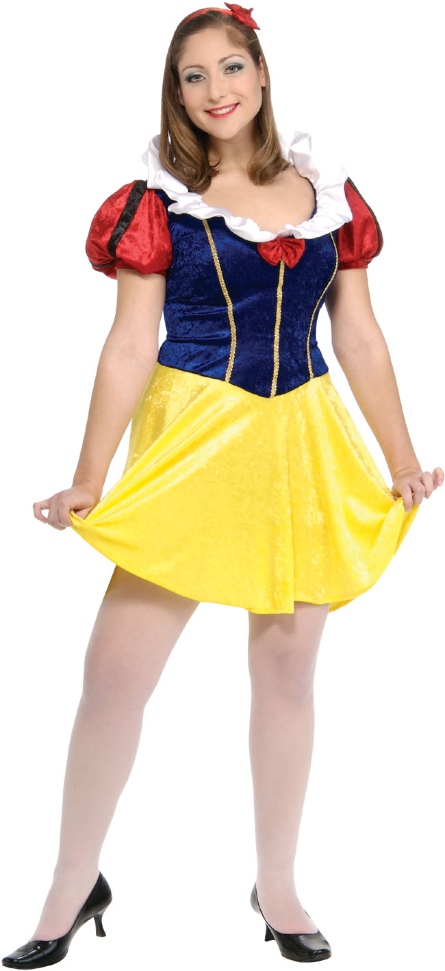 Plus Size Sexy Snow White Costume