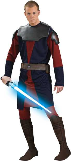 Clone Wars Deluxe Adult Anakin Skywalker Costume