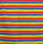 Rainbow Bandanas Small Stripes