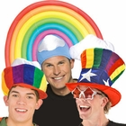 Rainbow Pride Hats