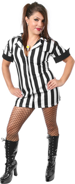 Plus Size Sexy Referee Costume